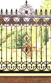 """""""BONAGY博纳尔伊斯兰风格铁艺围墙栏杆"""""""