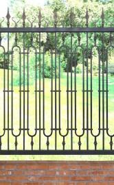 """""""BONAGY博纳尔新中式豪华款铁艺围墙栏杆"""""""